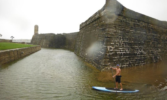 Lets Go Stand Up - St. Augustine: Up to 52% Off Paddleboard Tour at Lets Go Stand Up