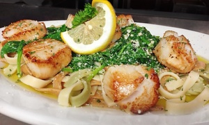 $17 for $30 Worth of Italian Lunch or Dinner Cuisine for Two at Rocco's Italian Restaurant