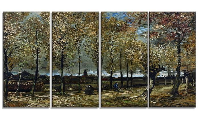 Multipanel Hand Painted Oil Paintings
