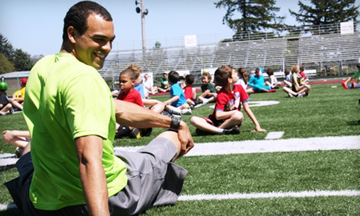 Jordan Kent Skill Camps - Sherwood - Tualatin North: Five-Day Kids' Sports Camp for One from Jordan Kent Skill Camp ($99 Value). Four Dates Available.