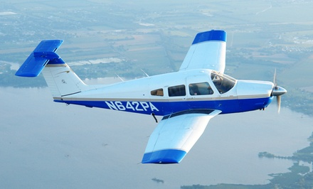 Intro Flight Lesson for at Acadian Aviation Pilot Training Center (Up to 57% Off). Four Options Available.