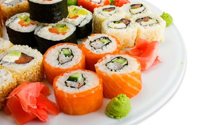 Aroma Restaurant and Sushi - Kenwood: $29 for $50 Worth of Asian Cuisine for Dinner at Aroma Restaurant and Sushi