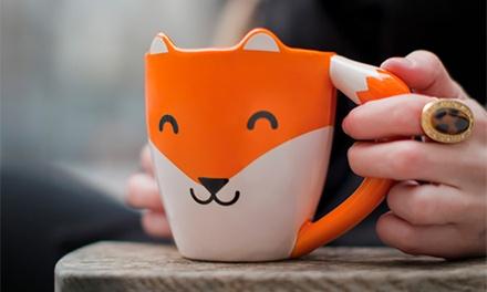 Thumbs Up Fox Mug for £6.98 (30% Off)