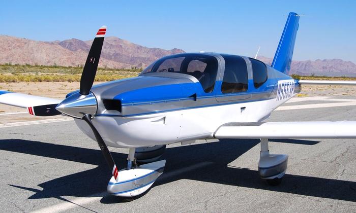 South Coast Aeronautics - Santa Monica Airport: $129 for a Hands-On Discovery Flight for Two at South Coast Aeronautics ($258 Value)