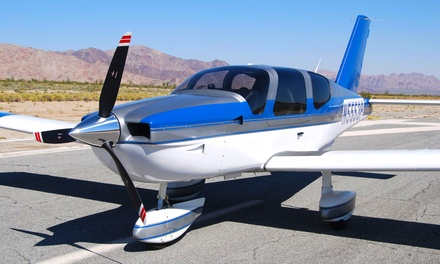 $129 for a Hands-On Discovery Flight for Two at South Coast Aeronautics ($258 Value)