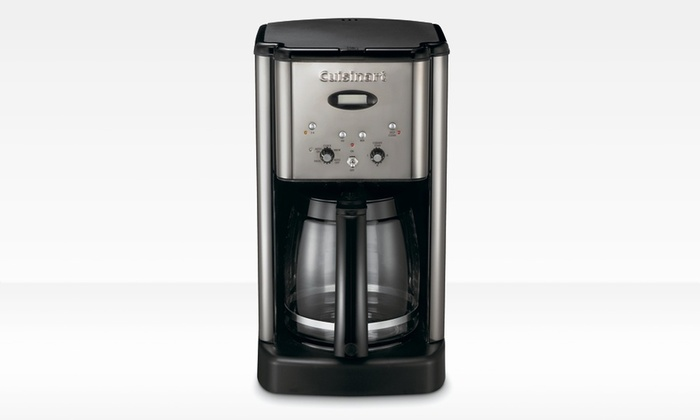 Cuisinart Brew-Central 12-Cup Programmable Coffeemaker: Cuisinart Brew-Central Programmable Coffeemaker (Refurbished). Free shipping.