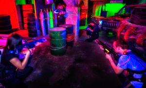 Laserball: Organizacja urodzin dla 8 dzieci z 60-minutową rozgrywką w laserowy paintball od 179,99 zł i więcej opcji w Laserball