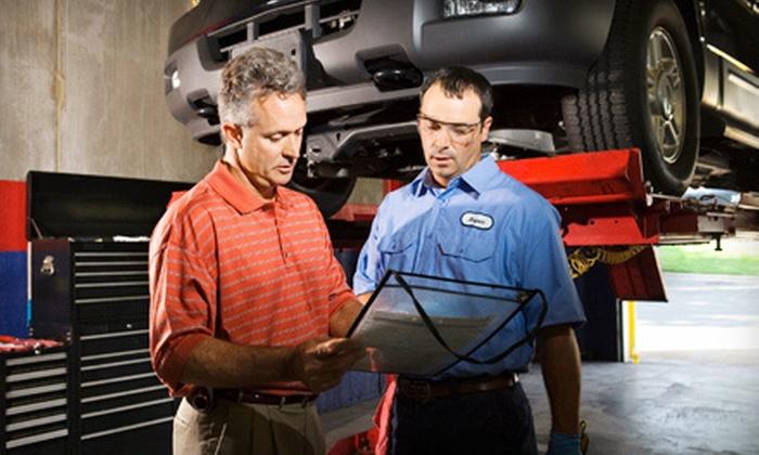 Our King Auto Repair - Covina: $35 for Three Oil Changes and a 31-Point Inspection at Our King Auto Repair in Covina ($127.83 Value)