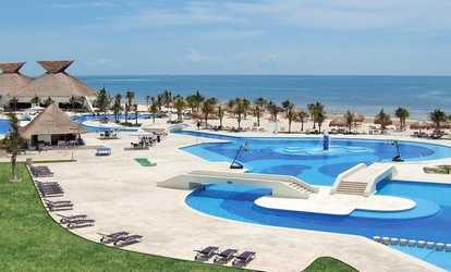 Groupon All Incls Bluebay Grand Esmeralda With Air From Travel By Jen