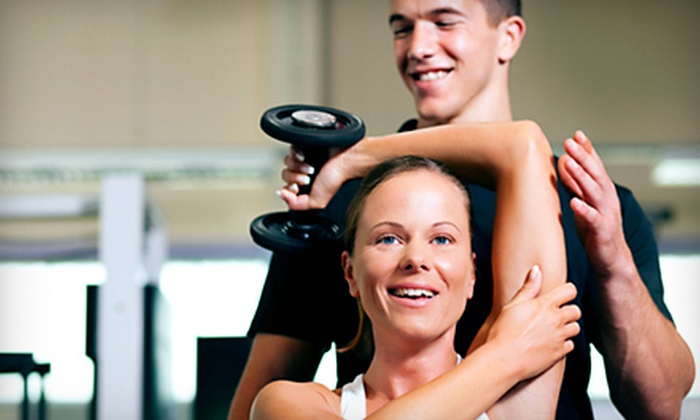 Vitality Personal Fitness Inc. - Newton Highlands: 3 Personal-Training Sessions with 5 or 10 Fitness Classes at Vitality Personal Fitness Inc. (Up to 94% Off)