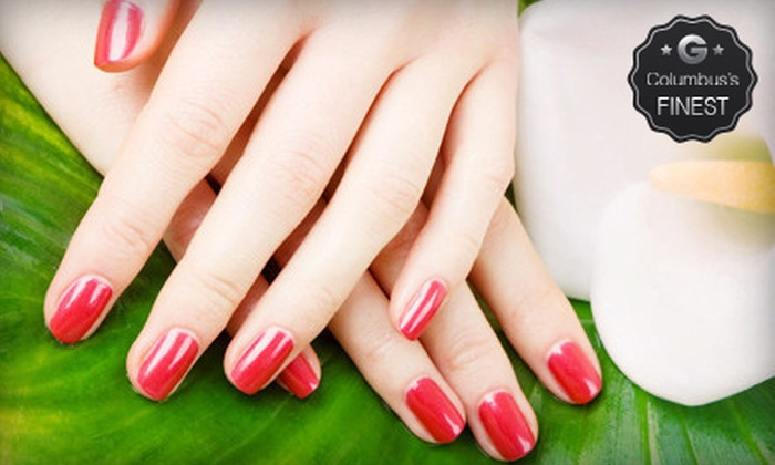 Luxe Nail Spa - Northcrest: $15 for a Full Set of Acrylic Nails at Luxe Nail Spa (Up to $30 Value)