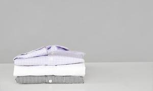 Textilreinigung Trieb: Bügeln von 10 Hemden, opt. mit Reinigung, bei der Textilreinigung Trieb (bis zu 65% sparen*)