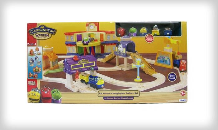 $169 for a Chuggington Wooden Train Set | Groupon