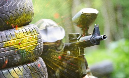 Paintball op diverse locaties