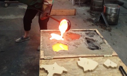 $59 for Glass Sand-Casting Workshop at Slow Burn Glass ($120 Value)