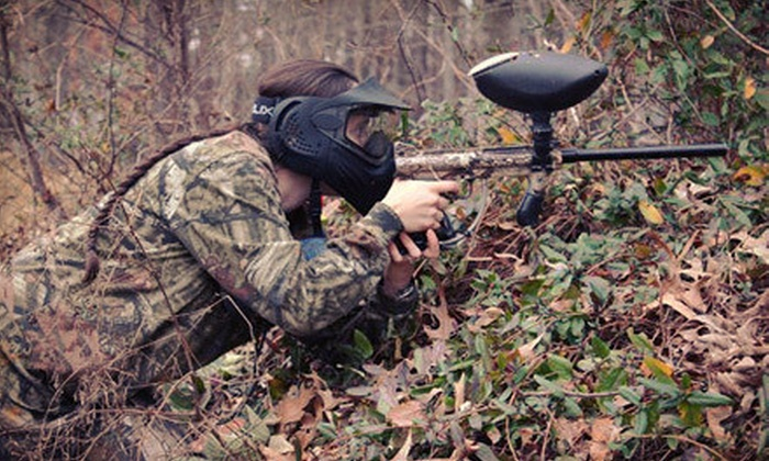 Bethel Battlefield - Hampton Roads Center: $19 for an All-Day Outing with Equipment Rental, Unlimited Air, and 200 Paintballs at Bethel Battlefield ($44.95 Value)
