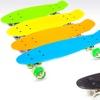 Light-Up Wheels Retro Skateboard
