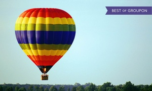 Adventure Balloon Rides: Hot Air Balloon Ride for One or Two with Breakfast and Champagne from Adventure Balloon Rides (Up to 51% Off)