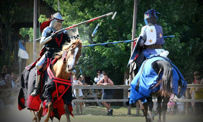 18th Annual Oklahoma Renaissance Festival - Muskogee: 18th Annual Oklahoma Renaissance Festival for Adult, Child, or Senior on May 4 or 5 (Up to Half Off)