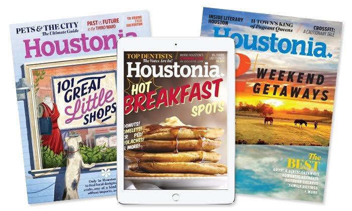 "Houstonia Magazine: One- or Two-Year Print Subscription or One-Year Digital Subscription to ""Houstonia Magazine"" (Up to 47% Off)"