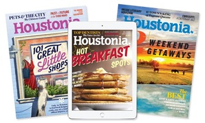 "Houstonia Magazine: One- or Two-Year Print Subscription or One-Year Digital Subscription to ""Houstonia Magazine"" (Up to 47% Off)"
