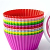 Mrs. Cupcake Silicone Cupcake Liners 12-Pack