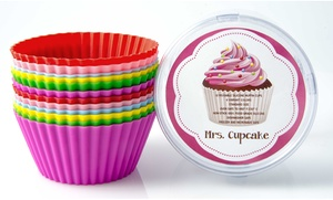 Mrs. Cupcake Silicone Cupcake Liners (12-Pack) at JR TRADING CO., plus 6.0% Cash Back from Ebates.