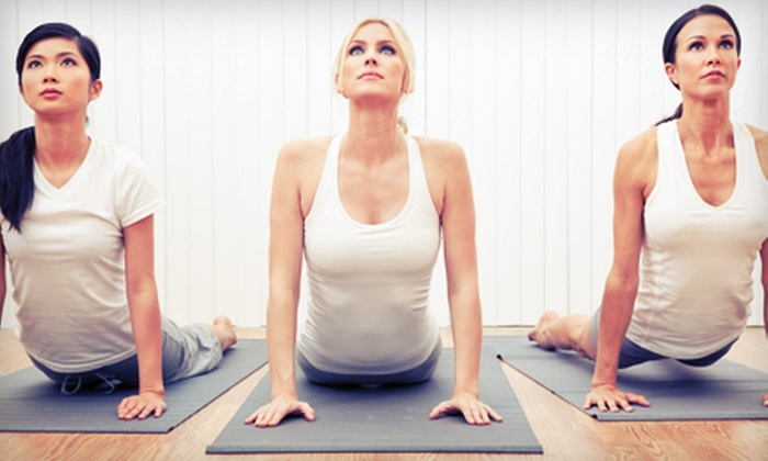 Yoga by Julia - Northeast Heights: $20 for 20 Classes at Yoga by Julia ($300 Value)
