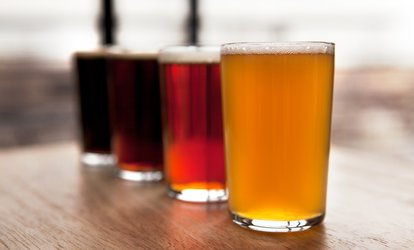 image for Beer Tasting for Two or Four at Big Top Brewing Company (Up to 48% Off)