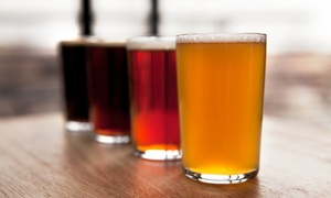 Elwoods Gastro Pub: Beer Flight and Appetizer with Optional Wednesday Paint Night for Two at Elwoods Gastro Pub (Up to 40% Off)