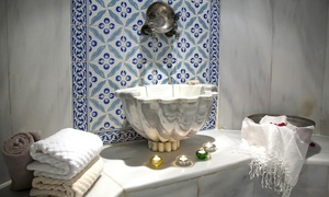 Real Touch Beauty Center: Moroccan Bath with Optional Mani-Pedi for One or Two at Real Touch Beauty Centre (Up to 56% Off)