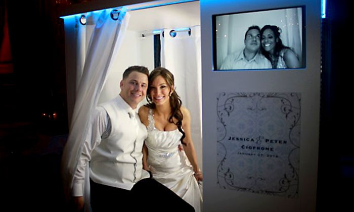 Perfect Pixel Photo Booth - Sacramento: Two- or Three-Hour Photo-Booth Rental Package from Perfect Pixel Photobooth (Up to 57% Off)