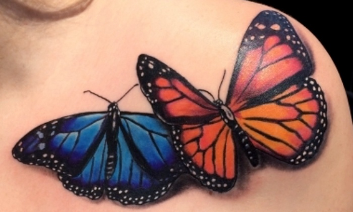 Divine Machine Tattoo - Allen: $60 for $100 Worth of Tattoo Services at Divine Machine Tattoo