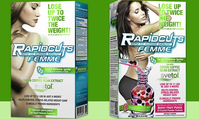 Allmax Rapidcuts Supplement Set Groupon Goods