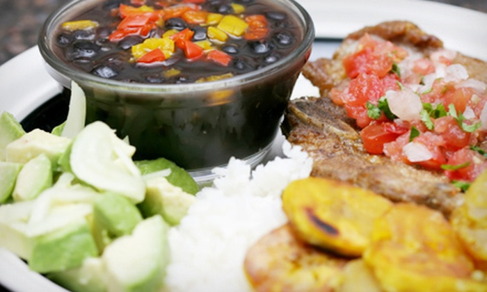 El Rincon Tropical - Virginia Beach: Three-Course Puerto Rican Meal for Two, Four, or Six at El Rincon Tropical in Virginia Beach (Up to 55% Off)