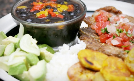3-Course Puerto Rican Meal for 2 - El Rincon Tropical in Virginia Beach