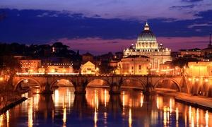 Roma, fino a 6 persone al centro di Roma tra il Colosseo e Trastevere