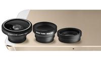 GROUPON: Aduro 3-Piece Camera Lens Kit for Apple iPhones Aduro 3-Piece Camera Lens Kit for Apple iPhones
