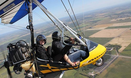 $99  for 1000-Foot Ultralight Hang-Glider SkyRide from Adventure At Altitude ($225  Value)