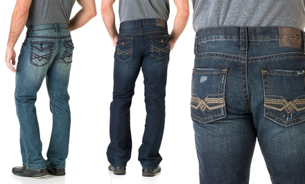Seven7 Men's Jeans. Multiple Options Available. Free Returns.