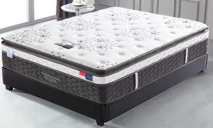 deals on memory foam mattresses and mattress toppers groupon. Black Bedroom Furniture Sets. Home Design Ideas