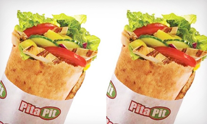 Pita Pit - St. Marys Hospital: $5 for $10 Worth of Stuffed Pitas at Pita Pit