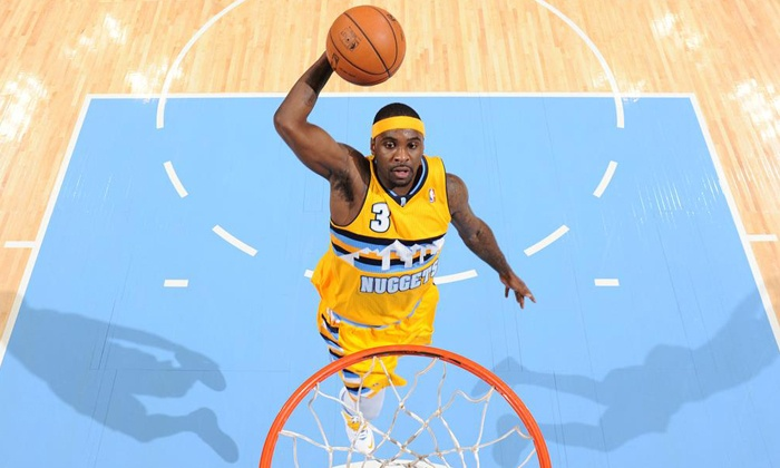 Denver Nuggets - Auraria: Denver Nuggets Game at the Pepsi Center on February 25 or March 19 (Up to Half Off). Four Options Available.