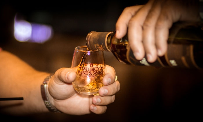 Whiskey, Wine, and Moonshine Tasting - Lucas Park Grille: Whiskey, Wine, and Moonshine Tasting on April 9 at 6:30 p.m.