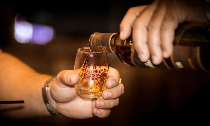 Whiskey, Wine, and Moonshine Tasting - Society Sports Spirits: Whiskey, Wine, and Moonshine Tasting on Saturday, April 9, at 6:30 p.m.