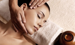 Bertine Elizabeth Salon and Skin Studio: Mud Body Wrap and Massage with Aromatherapy or Facial at Bertine Elizabeth Salon and Skin Studio (Up to 64% Off)