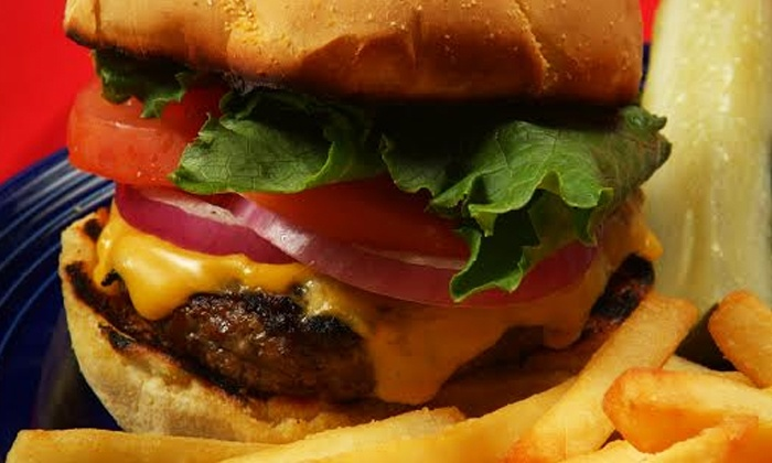 Thorny's - Thorny's : Burgers, Sandwiches, and American Fare for Two or Four at Thorny's (50% Off)