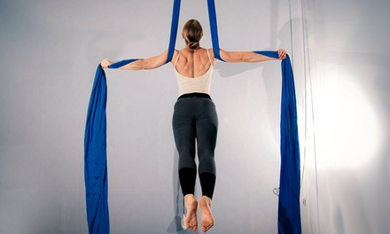 $10 for $20 Worth of Fitness Classes  Aerial Space