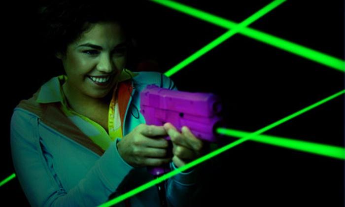 Laser Park - West Windsor Township: Three Laser-Tag Games for 6, 8, or 10 at Laser Park (Up to 59% Off)