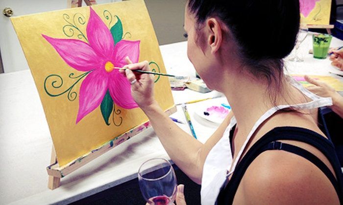 Noric Art & Wellness - Spring Valley: Three-Hour BYOB Painting Class for One or Two at Noric Art & Wellness (Up to 61% Off)